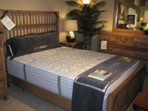 Craftsman Style Slat Bedroom from Artisan & Post by Vaughan-Bassett