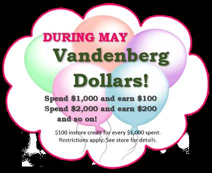 Vandenberg Dollars