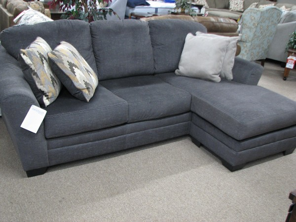 Ashley Sofa With Switchable Chaise End Cushion