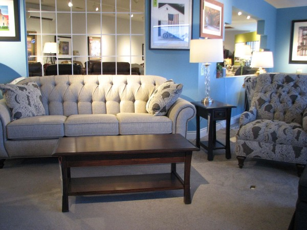 England Sofa and Coordinating Chair