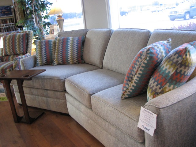 England Two Piece Cuddler Sectional